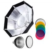 [88476] Godox Bundle | AD200 Modifier Kit |AD-S7 Softbox + AD-S2 Reflector &  Diffuser Pack + AD-S11/S12 Gel & Grid Pack
