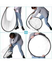 [74060] Neewer Reflector Pop-Out Foldable Scrim Diffuser with Carrying Case 150x200cm