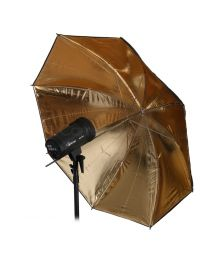 [10913] Hylow Umbrella Gold Reflective  (109cm)