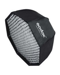 [70661] Godox Folding Softbox with Grid | 120cm Octabox | SB-GUE120 | Bowens Speedring