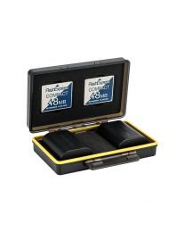 [70520] JJC Multi-Function Battery & CF (CompactFlash) Memory Card Case (BC-3CF2)