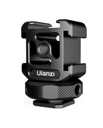 [45042] ULANZI PT-12 Camera Hot Shoe Extension Bracket with Triple Cold Shoe Mounts