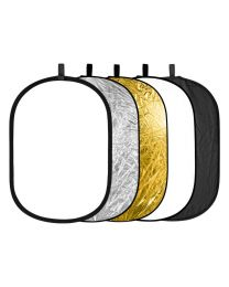 [74058] Neewer 60x90 cm 5 in 1 Collapsible Multi Disc Light Reflector