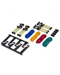 [70843]  Falcon Eyes Manual Wall/Ceiling Reeling Chain System for Four Backdrop | B-4W