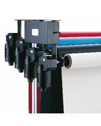 [70355] Falcon Eyes Automatic Backdrop Elevator Support System with Remote Control (B-4WE) (holds up to four backdrops)
