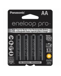 [70588] Eneloop Pro AA Rechargeable Ni-MH Batteries | 2,550mAh | 4-Pack