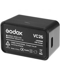 [70604] Godox USB Battery Charger for V1 & AD100 Pro (VC26)