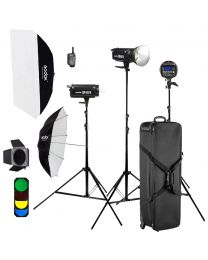 [70928] Godox DP400II-D 3 x 400w/s Studio Monolight Kit