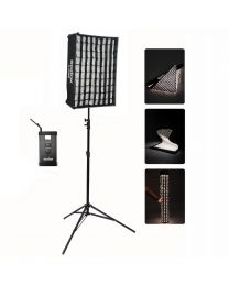 [89766] Godox Bundle | FL-Series Flexible LEDs Single Kit + Softboxes | Choose Between 30x45cm, 40x60cm, 60x60cm, or 30x120cm