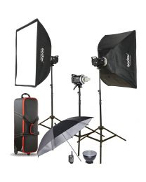 [70629] Godox MS300-D Triple Studio Strobe Monolight Kit | 300w/s