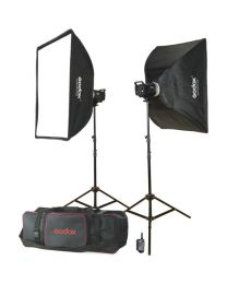 [70627] Godox MS300-F Double Studio Strobe Monolight Kit | 300w/s
