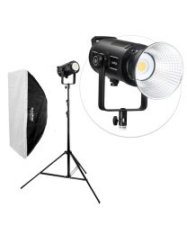 [83999] Godox Bundle | Godox SL150-II 150w LED +  Large Softbox & Stand | Choose Size Softbox