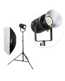 [84000] Godox Bundle | Godox UL150 Ultra-Silent LED + Large Softbox & Stand | Choose Size Softbox