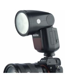 [70852] Godox V1-S TTL Li-Ion Round Head Camera Flash for Sony
