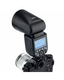 [70850] Godox V1-F TTL Li-Ion Round Head Camera Flash for Fuji