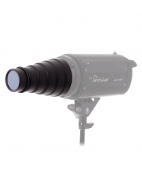[70567] Hylow Mini Snoot with Bowens Mounts | Includes Grid & Gels