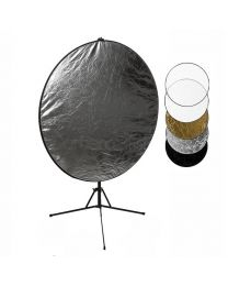 [87418] Reflector Bundle | 5-in-1 Reflector (Choose 80cm or 107cm) + 200cm Reflector Stand