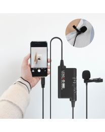 [70784] LensGo Omnidirectional Lavalier Microphones | LYM-DM2 | For Smartphones or Cameras