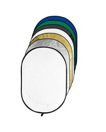 [70426] Godox RFT-10 Collapsible Reflector, Scrim & Chroma-Key Backdrop | 7-in-1 | 150x200cm