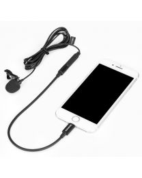 [70887] Saramonic Lavmicro U1A Clip-on Lavalier Microphone with Lightning Connector for iOS devices