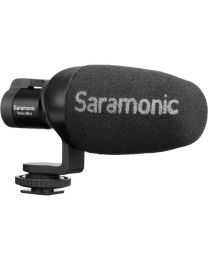 [70884] Saramonic Vmic Mini Condenser Video microphone for DSLR and SmartPhone 3.5mm RRS and TRRS output cables included