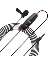 [70782] LensGo Clip-On Omni Lavalier Microphone | LWM-DM1 | 6 meters | For Smartphones & Cameras