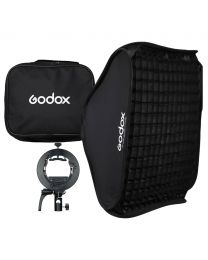 [70711] Godox SGGV8080 80cm Folding Softbox Kit + Grid | With S2 Flash Speedlight Bracket