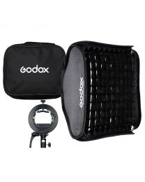 [70434] Godox SGGV6060 60cm Folding Softbox Kit + Grid | With S2 Flash Speedlight Bracket