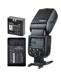 [88876] Godox Bundle | Godox V850-II Manual/HSS Li-Ion Speedlight + Speedlight Bracket
