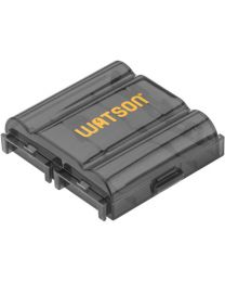 [70924] Watson 4 AA or AAA Battery Case Holder (Black)