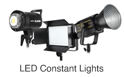 LED Video Lighting Kits Constant Lights Continuous Lighting