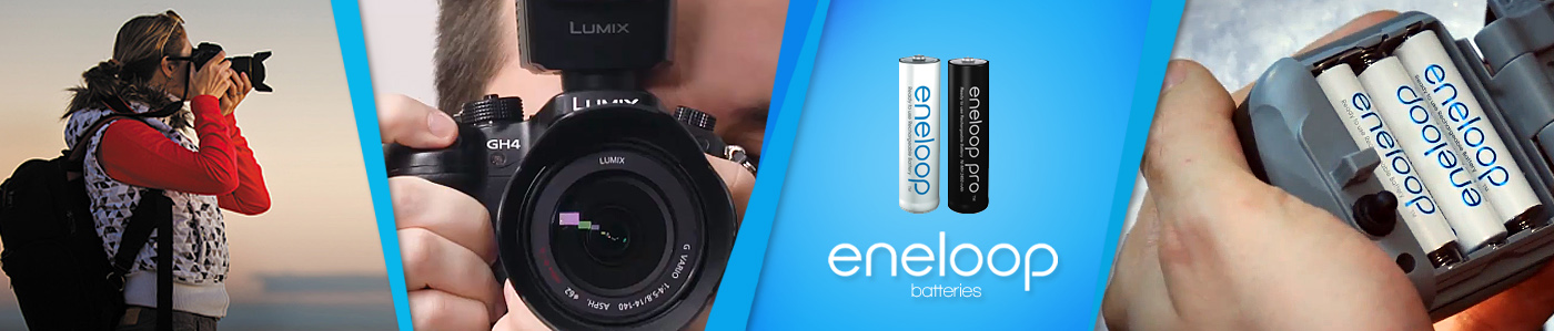 Panasonic Eneloop Rechargeable Batteries