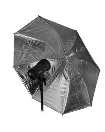 [10914] Hylow Umbrella Silver Reflective (109cm)