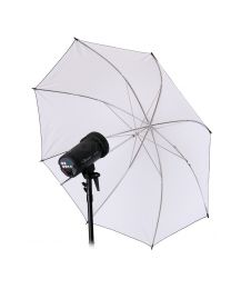 [10916] Hylow Umbrella White Reflective (109cm)