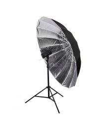 [79113]  Hylow Parabolic Umbrella Silver Reflective 183cm