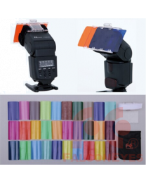[79366] Falcon Eyes Flash Gel Kit with 30 Colour Filters & Plastic Holder (CFA-30K)