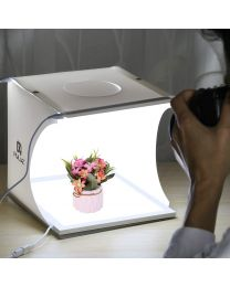 [70465] PULUZ Shadowless LED Floor Panel + Mini LED Light Box (20x20cm)