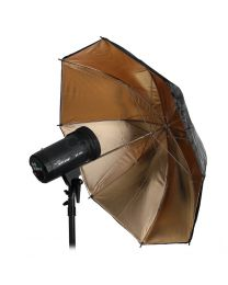 [79110] Hylow Umbrella Gold Reflective (84cm)