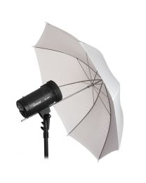 [79104] Hylow Umbrella White Shoot-Through Translucent (84cm)