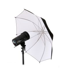 [79107] Hylow Umbrella White Reflective (84cm)