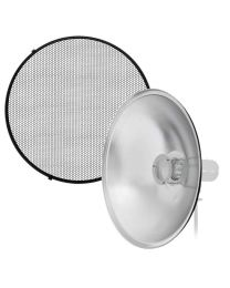 [88515] 70cm Beauty Dish + Honeycomb + Diffuser Cloth Bundle  (Bowens Mount)