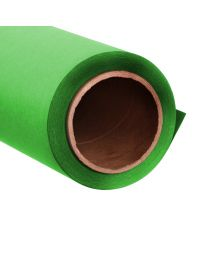 [70239] PrimeColour Seamless Paper Backdrop Chroma-Key Green 1.35x10m (170gsm, Carton Tube)