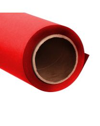 [70259] PrimeColour Seamless Paper Backdrop Red Rouge 1.35x10m (170gsm, Carton Tube)