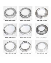 [88996] Interchangeable Speed Rings for Light Modifiers | Choose Bowens, Elinchrom, Multiblitz, Richter, Broncolor, Comet