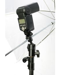 [79172] Hylow Heavy-Duty Ball Head Umbrella and Flash Holder