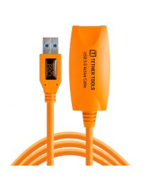 [11600] TetherTools USB 3.0 Active Extension Cable 16ft/4.9m (ORANGE)  CU3017