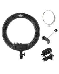 [77086] Godox LR160 Black LED Ring Light 18W