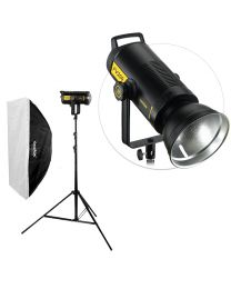 [84002] Godox Bundle | Godox FV200 200W LED/High-Speed Flash + Large Softbox & Stand | Choose Size Softbox