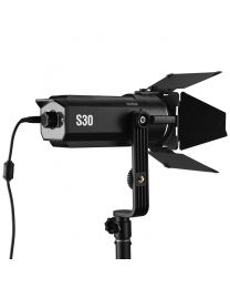 [70390] Godox S30 LED Focusing Light with Barndoor