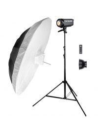 [83988] Godox Bundle | Newborn Photography Kit | Godox SL100W LED 100w +  Large Umbrella | Choose 150cm or 185cm